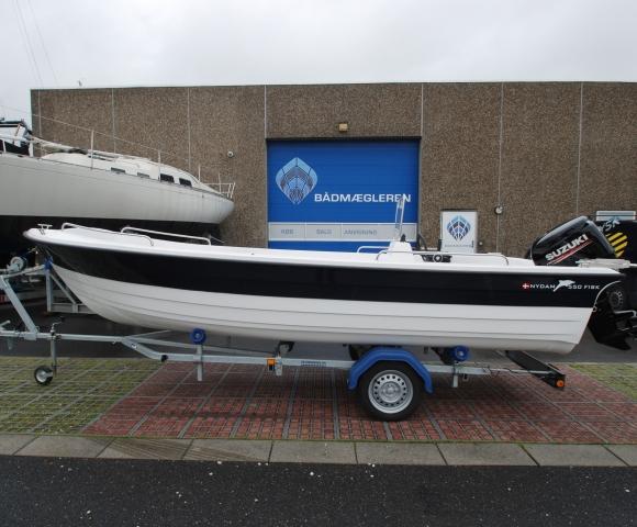 Nydam 550 Fisk Styrepultsbåd